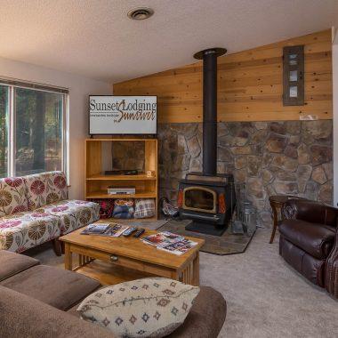 Fireplace at Alta 2