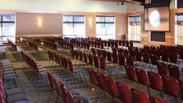 benham hall meeting set up