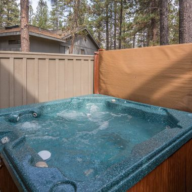 sunriver vacation home hot tub