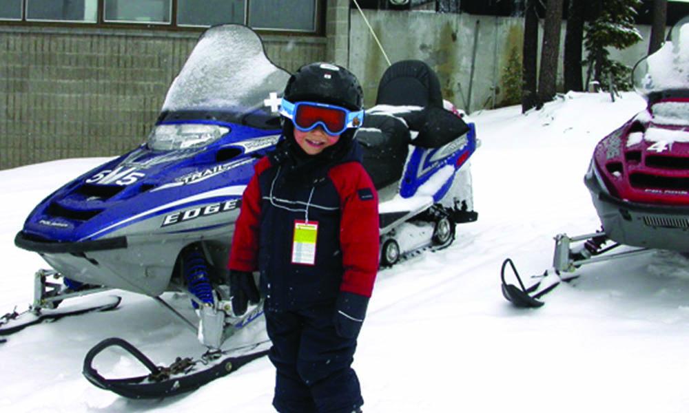 sunriver snowmobiling