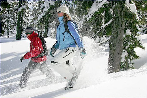snowshoeing in central oregon