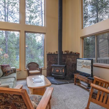 living room at Red Fir 22