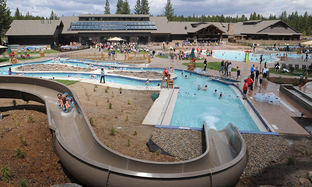 water slide Sunriver SHARC
