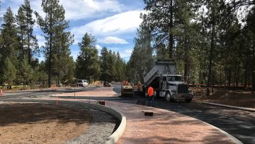 Sunriver new roundabout construction