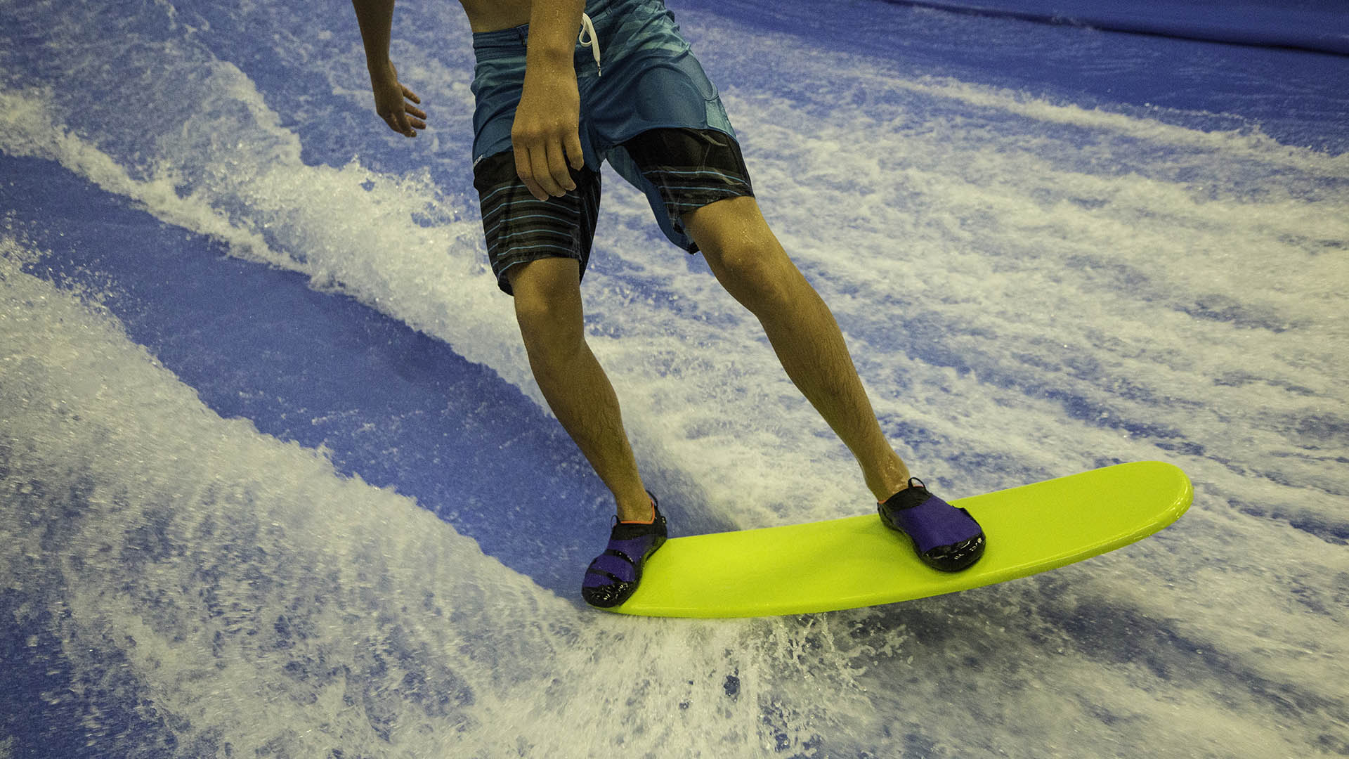 sunriver fitness center flowrider indoor surfing