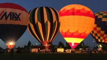 Balloons Over Bend Night Glow